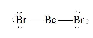 BeBr2 lewis structure