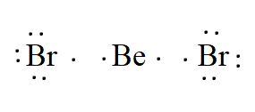 BeBr2 valence electrons