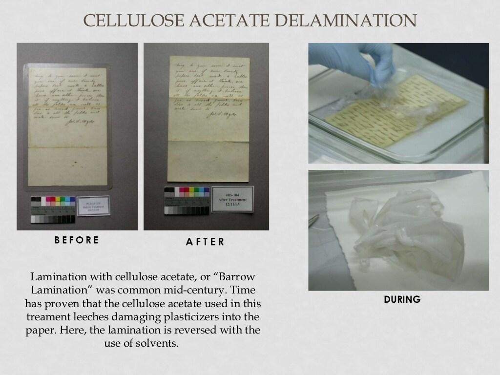 Cellulose lamination