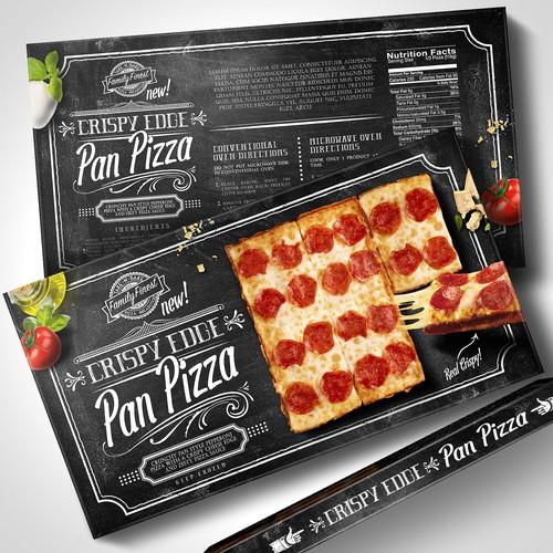 Frozen Pizza Box