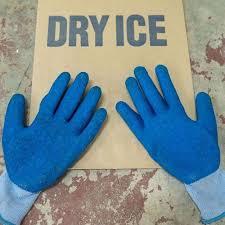 Gloves for Dry ice