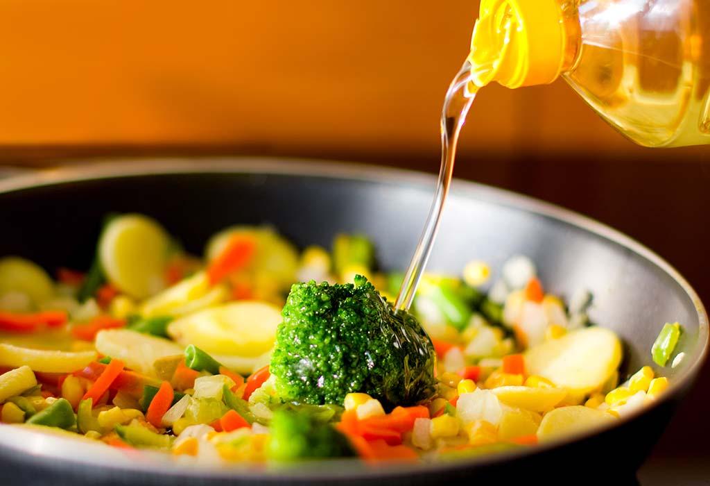 Oil Residue in Food