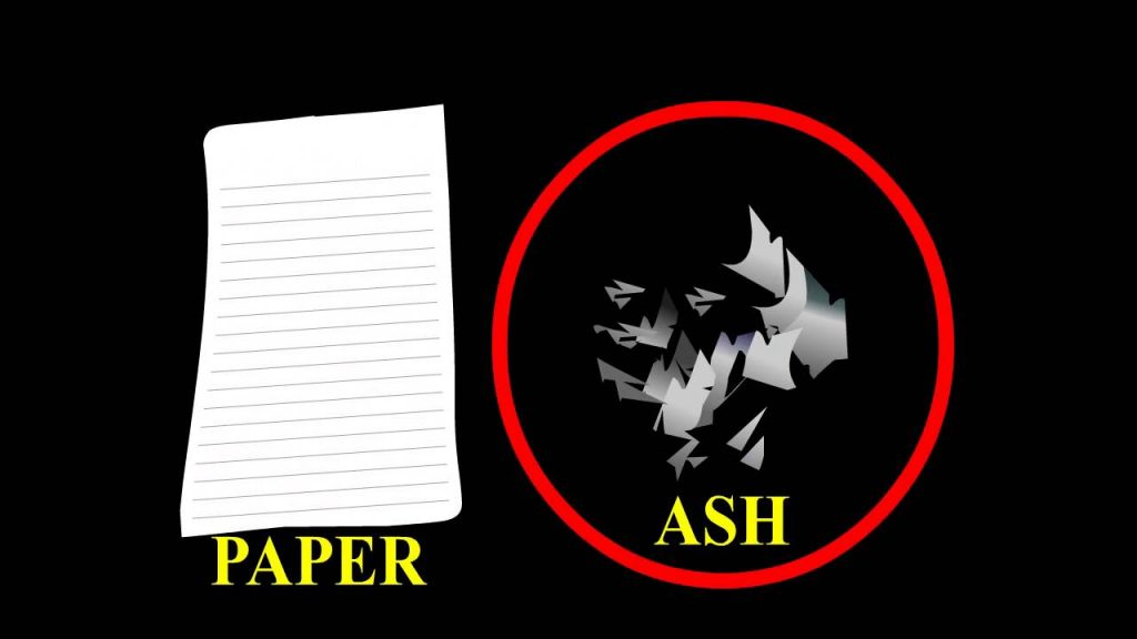 Paper and Ash