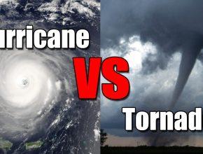 Tornado vs Hurricane