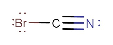 BrCN lewis structure