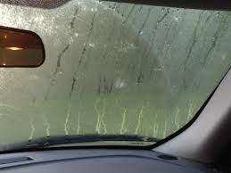 Car windows fog up