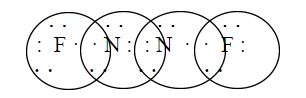N2F2 Lewis Structure