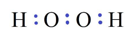 H2O2 bond pairs